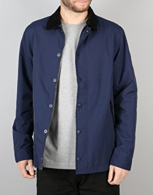 The Hundreds Feather Jacket - Navy