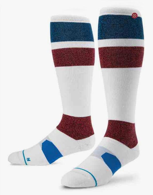 Stance Johnson 2016 Snowboard Socks - White