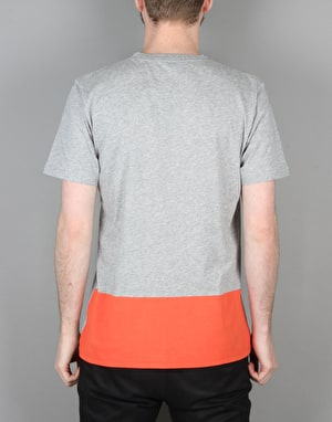Carhartt S/S Porter T-Shirt - Grey Heather/Florida
