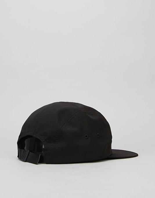 HUF Triple Triangle Volley 5 Panel Cap - Black