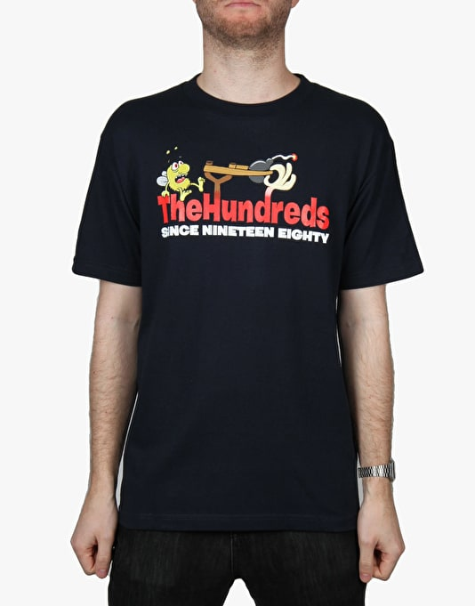 The Hundreds Bugs T-Shirt - Navy