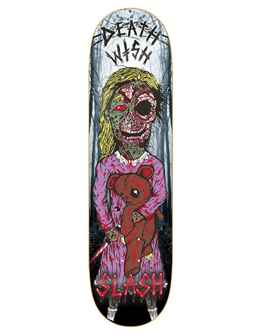 Deathwish Slash Lost Girl Pro Deck - 8.5""