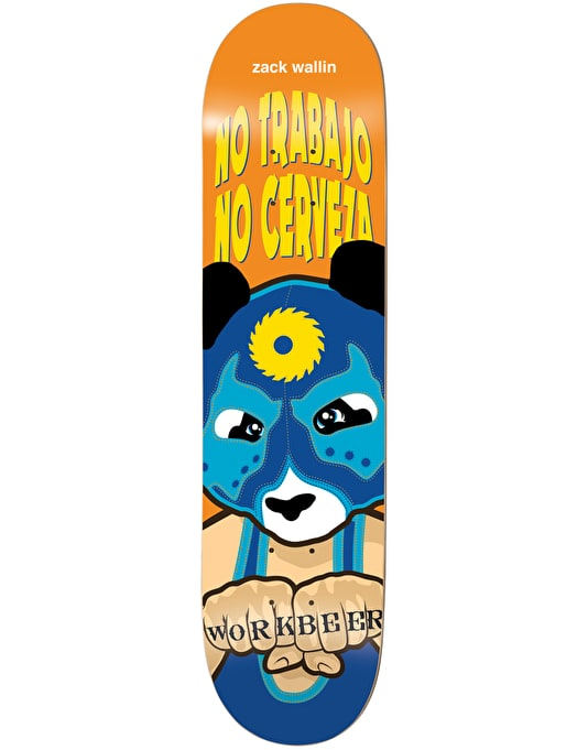 Enjoi Wallin Wrestling Mask Impact Light Skateboard Deck - 8.25""
