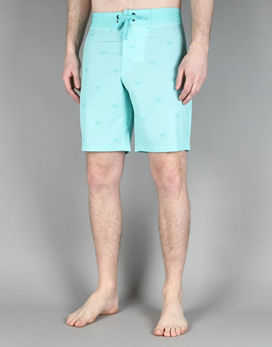 Diamond Supply Co. Brilliant Boardshorts - Diamond Blue