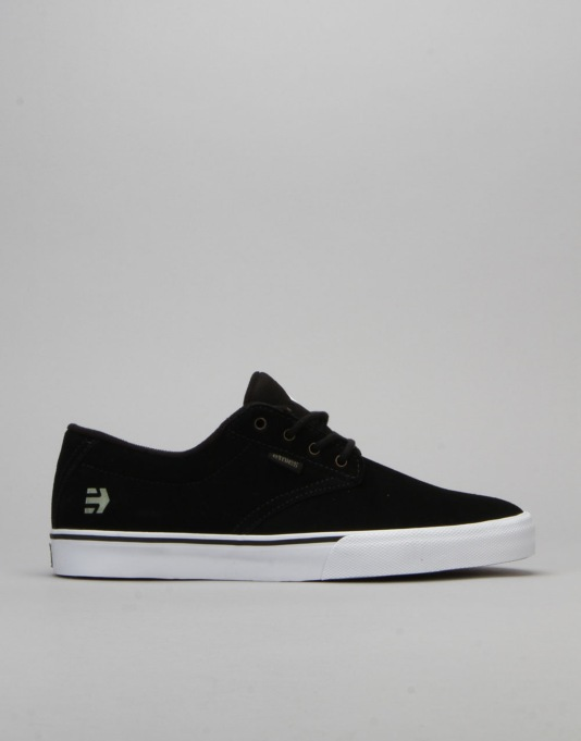 Etnies x Element Jameson Vulc Skate Shoes - Black/White/Gum