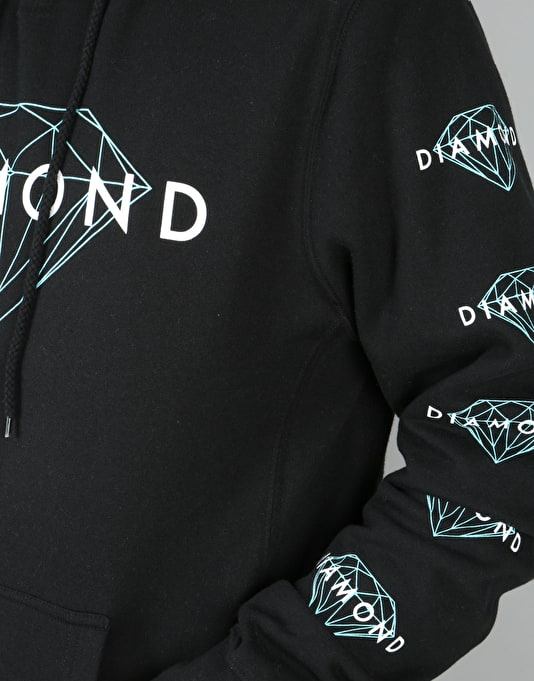 Diamond Supply Co. Brilliant Pullover Hoodie - Black