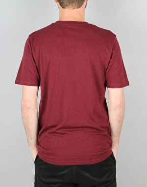 Carhartt S/S Pocket T-Shirt - Chianti Heather