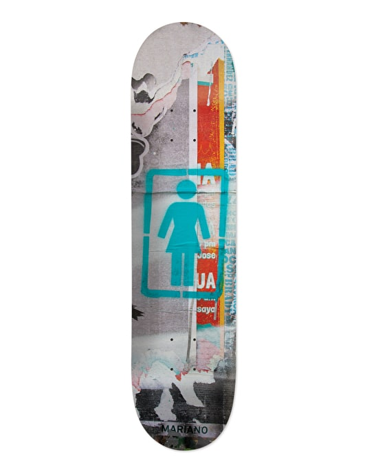 Girl Mariano Post No Bills Pro Deck - 8.25""