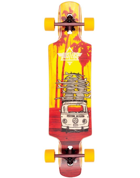 "Dusters Quiver Drop Through Longboard - 38.5"" x 9.5"""
