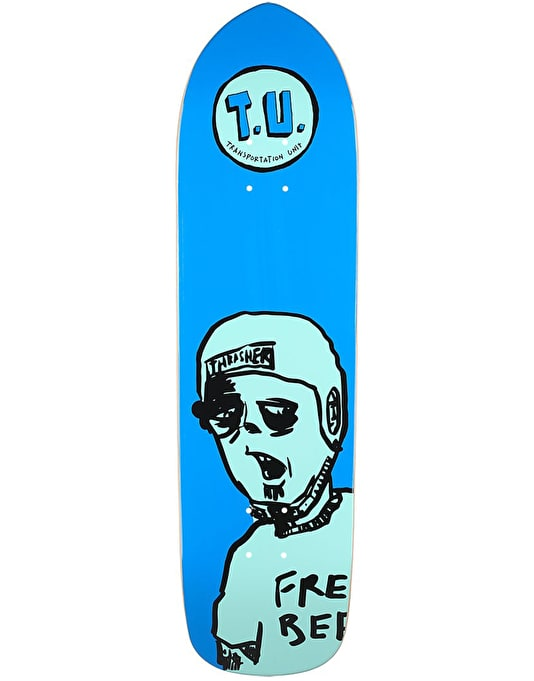 Transportation Unit Free Beer Team Deck - 8.5""
