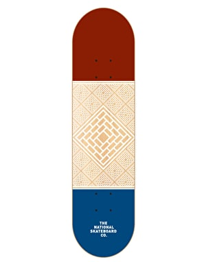 The National Skateboard Co. Division Team Deck - 8.125