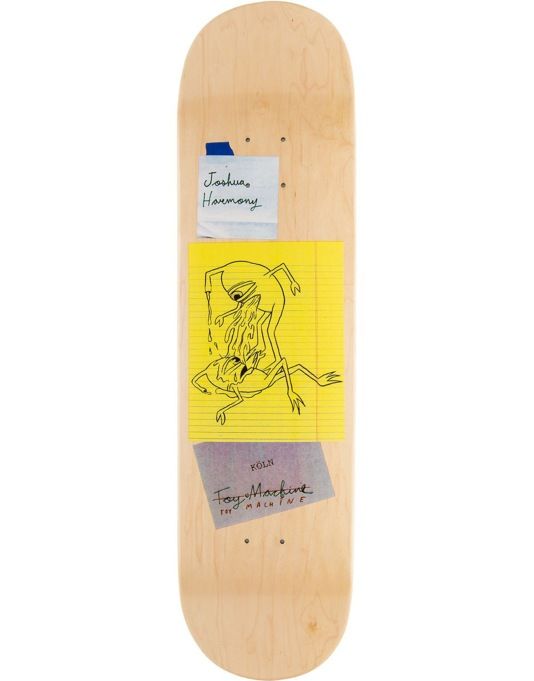 Toy Machine Harmony Scraps Pro Deck - 8.375""