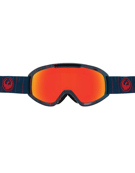Dragon DX2 2016 Snowboard Goggles - Geo/Red Ion