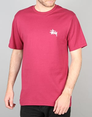 Stüssy Basic Stüssy T-Shirt - Grape