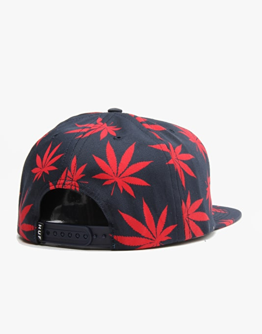 HUF Plantlife Volley 5 Panel Cap - Navy