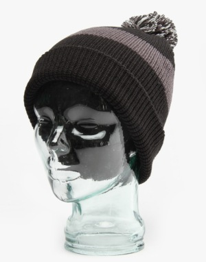 Burton What's Your 9er? Beanie - True Black/Faded
