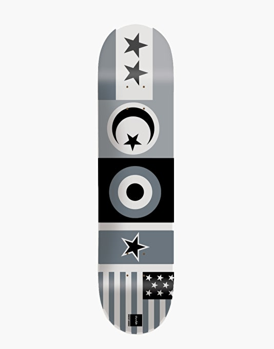 Chocolate Alvarez Flags Pro Deck - 8""