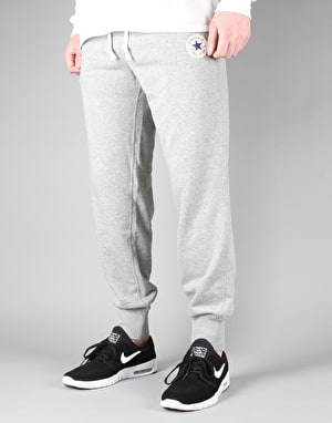 Converse Core Rib Cuff Pants - Vintage Grey Heather
