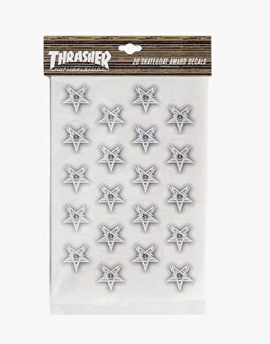 HUF x Thrasher Award Decals