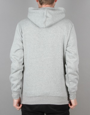 Crooks & Castles Seal Pullover Hoodie - Heather Grey