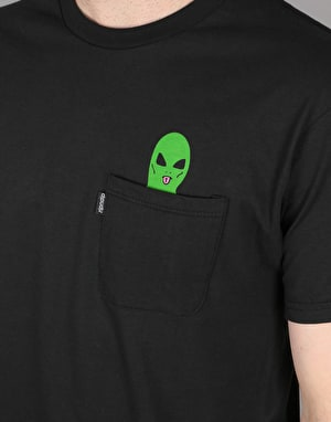 RIPNDIP Lord Alien Pocket T-Shirt - Black