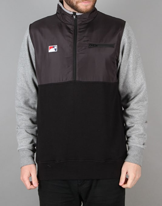 The Hundreds Venture Half Zip Jacket - Black