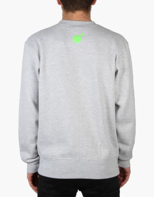 The Hundreds Tennis Sweatshirt - Athletic Heather