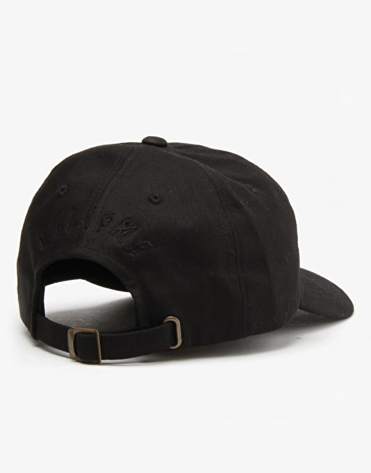 Welcome Rocking Dog Unstructured Slider Cap - Black/Black