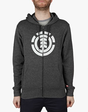 Element Icon Zip Hoodie - Charcoal Heather