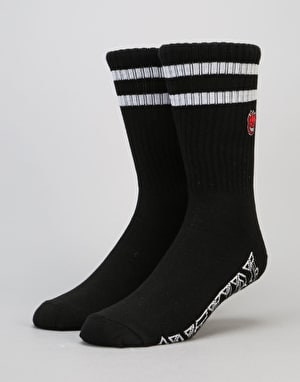 Spitfire Bighead Old E Socks - Black/White/Red