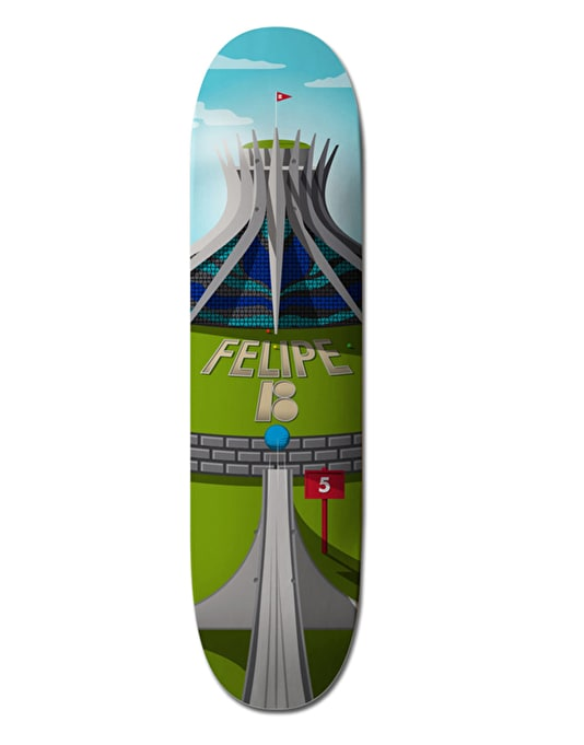 Plan B Felipe Cathedral Pro.Spec Pro Deck - 8""