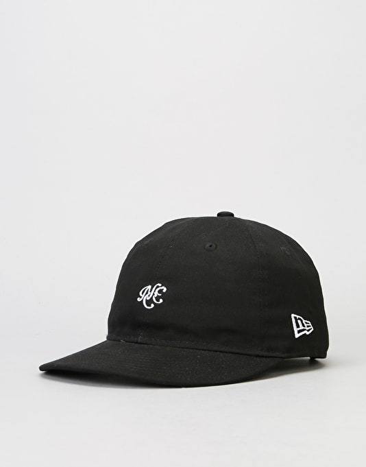 New Era 9Fifty Unstructured Strapback Cap - Black