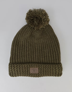 DC Shells Worth Bobble Beanie - Fatigue Green