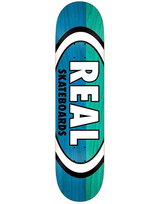Real Two Tone Oval Team Deck - 8.06""