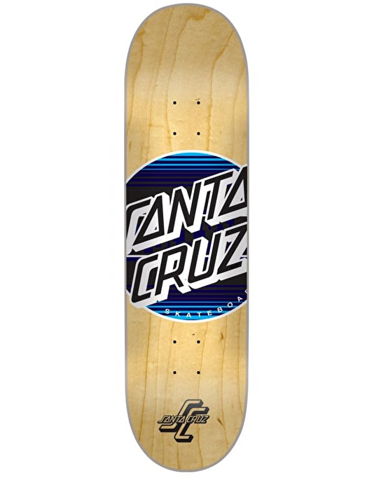 Santa Cruz Serape Dot Team Deck - 8.25""