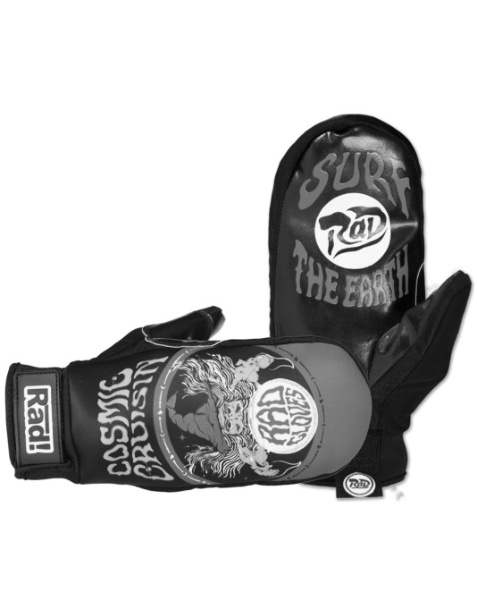 Radical Gloves The Preen Up 2016 Snowboard Mitts - Cosmic Cruisin'