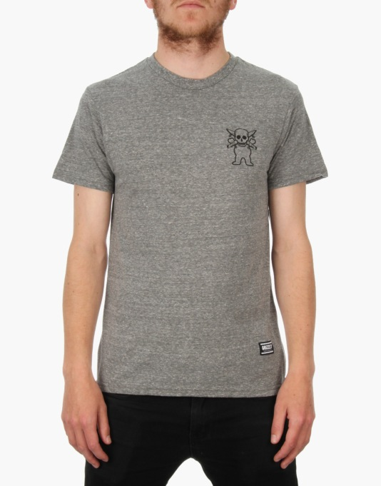 Grizzly x Fourstar Tri-Blend T-Shirt - Grey