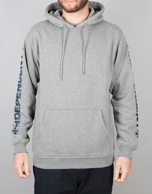 Independent Cross Pullover Hoodie - Dark Heather