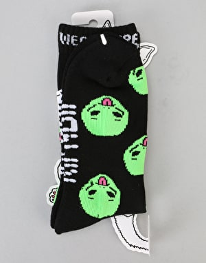RIPNDIP We Out Here Socks – Black