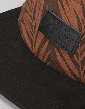 Globe Thorburn 5 Panel Cap - Brown