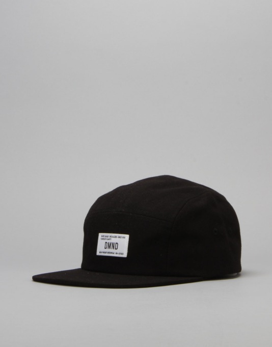 Diamond Supply Co. Herringbone 5 Panel Cap - Black