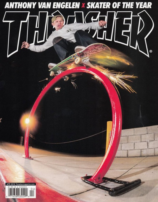 Thrasher Magazine Issue 429 April 2016