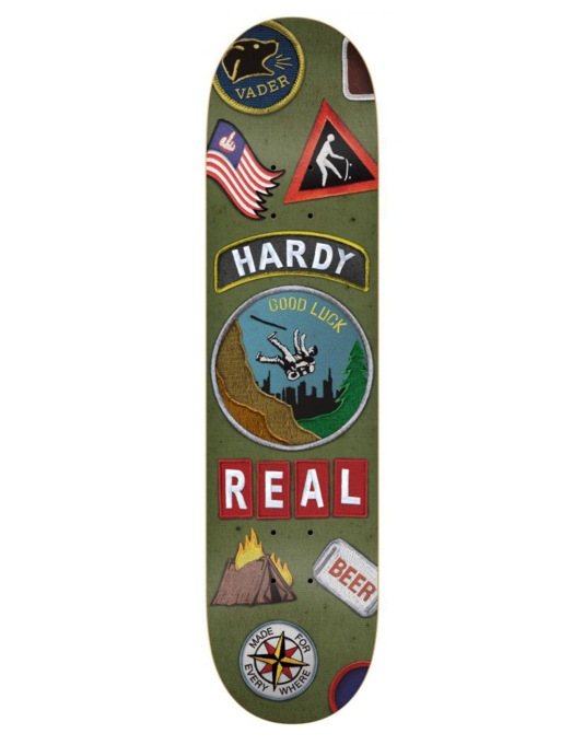 Real Hardy Ramblin Man Pro Deck - 8.43""