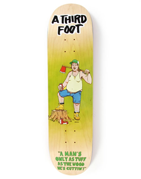 A Third Foot Axe Man Team Deck - 8""