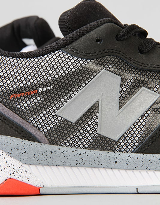New Balance Numeric 868 Skate Shoes - Grey/Black Ndure/Mesh