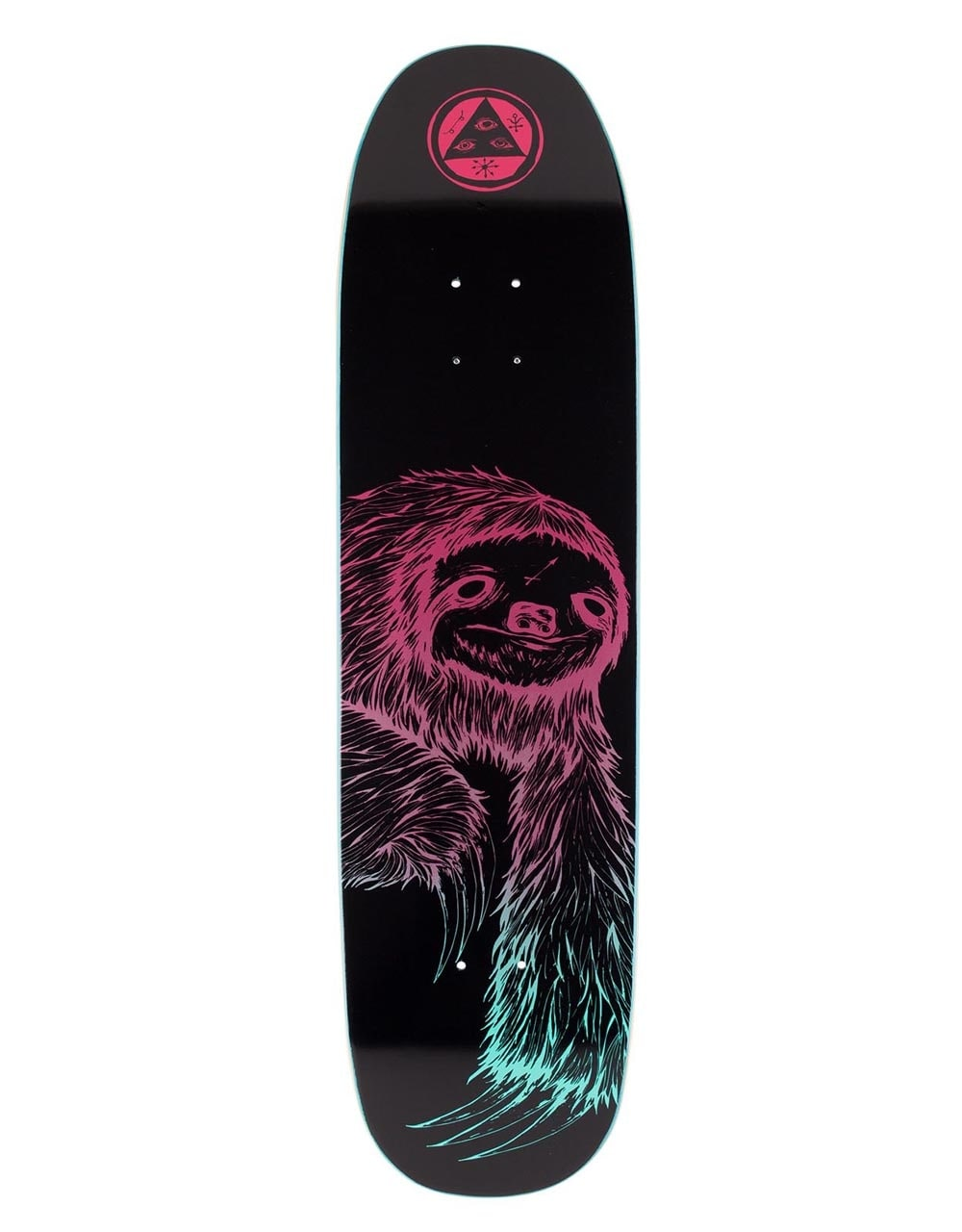 be26b228e576 Welcome Sloth 2 on Son of Moontrimmer Skateboard Deck - 8.25