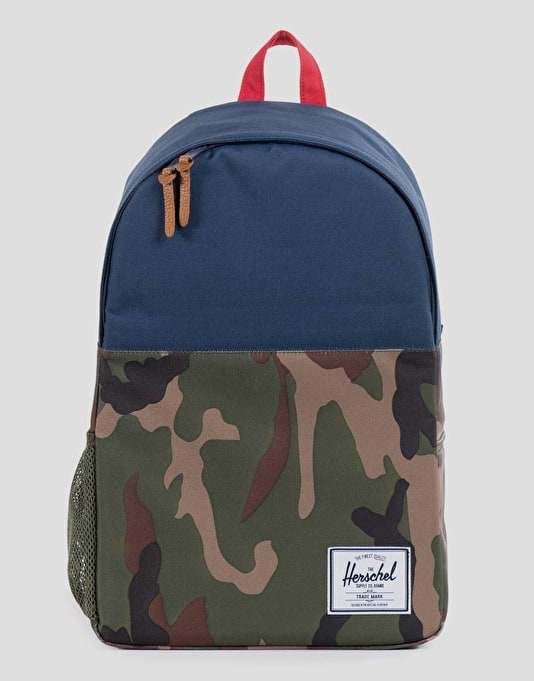 Herschel Supply Co. Jasper Backpack - Woodland Camo/Navy/Red