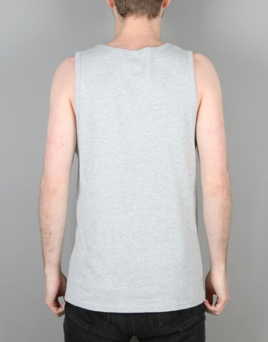 Volcom Fade Stone Vest - Heather Grey