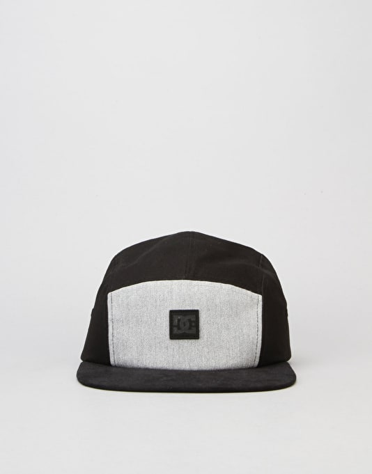 DC Rampy 5 Panel Cap - Black