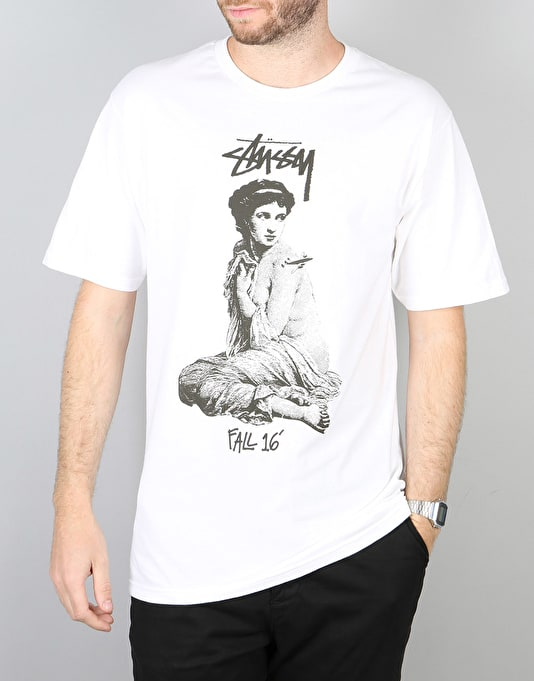 Stüssy Lady Roam T-Shirt - White
